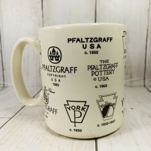 Pfaltzgraff Pottery Copyright Brands Through The years 10-278 Coffee Mug Cup